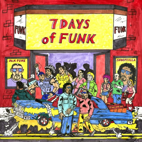 7 Days of Funk (Snoop Dogg & Dam Funk): Stones Throw Records